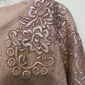 Elle Sweaters - Elle Pink Sweater